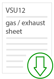 vsu12 gas and exhaust sheet