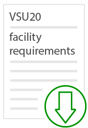 vsu20 facility requirements