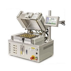 The new VSU28 vacuum reflow solder oven with dual heating and pressure